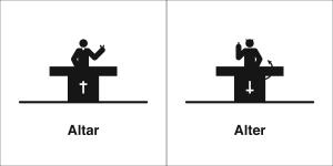 altar alter