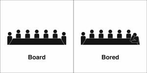 board bored
