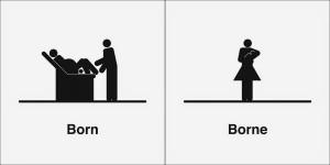 born borne