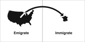 emigrate immigrate