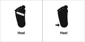 heal heel