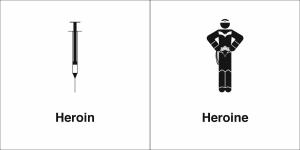 heroin heroine